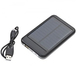 Power bank solarny PHILADELPHIA kolor czarny