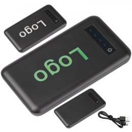 Power bank 8000mAh BOLIVIA kolor zielony