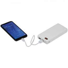 Power bank 20 000mAh CRACOW kolor biały